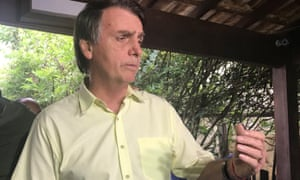 Jair Bolsonaro said Thursday: 'As previously stated during our campaign, we intend to transfer the Brazilian Embassy from Tel-Aviv to Jerusalem.'
