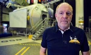 Mark McCaughrean at the European Space Agency's site in Noordwijk, Netherlands.