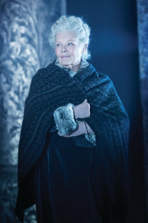 Judi Dench as Paulina in The Winter's Tale.