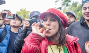 A celebration of Cannabis Legalization Day in Canada.