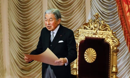 What will happen to Japan's infrastructure after Emperor Akihito abdicates.
