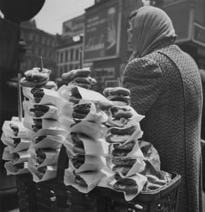 Salty Pretzels, New York City, 1945