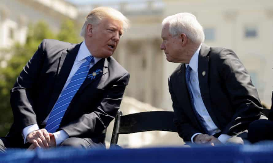 Donald Trump recently attacked attorney general Jeff Sessions, fueling rumors about his attorney general's possible political demise.