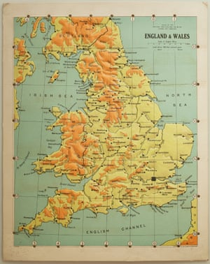 Looking Down On Britain Maps Of The UK Across Time Books The - Contour maps online uk