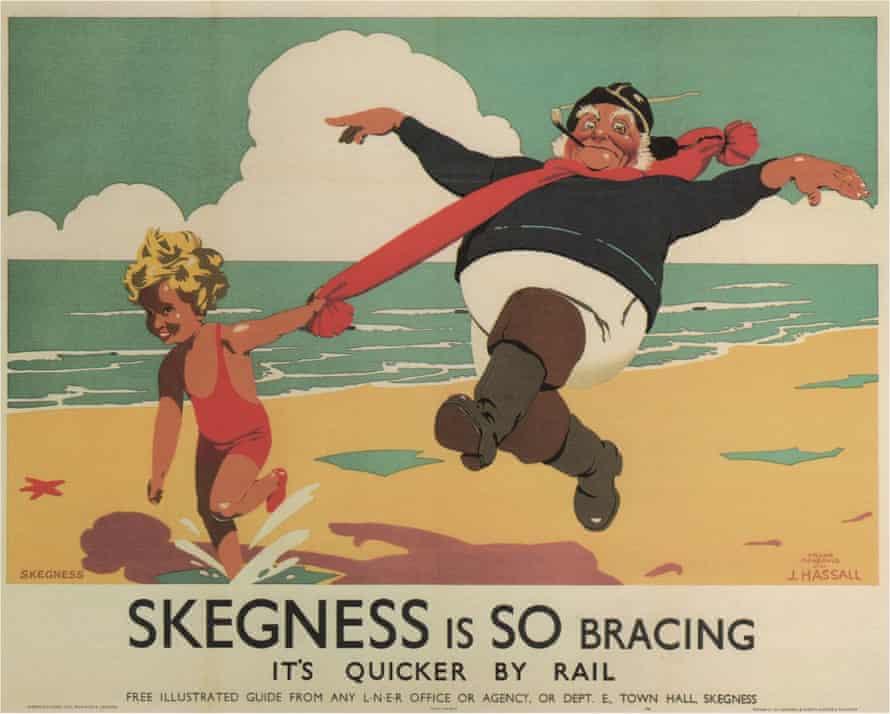 Frank Newbould 1933 railway poster for Skegness.