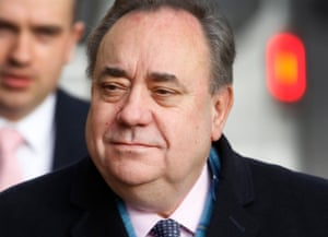 Alex Salmond denies 14 charges of sexual assault.