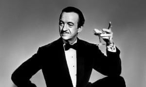 David Niven, a stalwart of Talking Pictures.