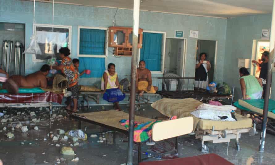 Betio hospital in Kiribati