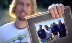 The clip featured a doctored version of Nickelback's 2015 music video Photograph.