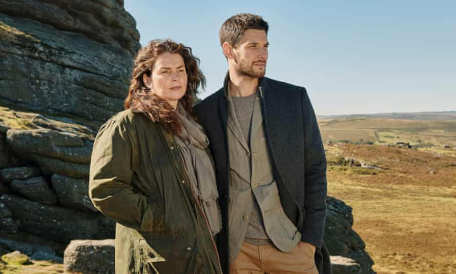 'What happens when a woman drops off the desirability scale?' … Julia Ormond and Ben Barnes in Gold Digger.