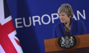 Theresa May speaks after EU leaders offered Britain an extension to Brexit