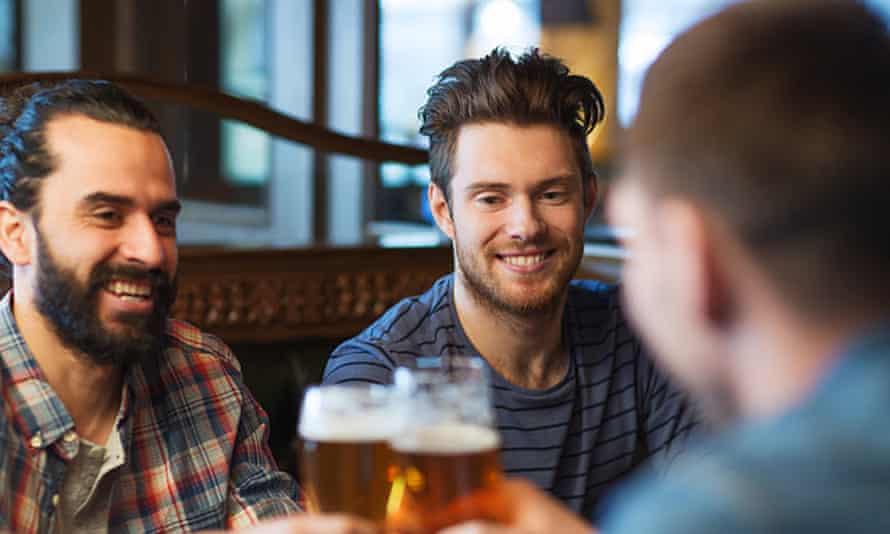 mean drinking in pub