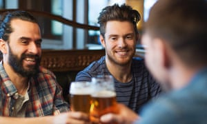 How do the UK's new alcohol guidelines compare with the rest