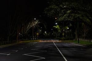 Alexandra Avenue, near the Botanic Gardens.