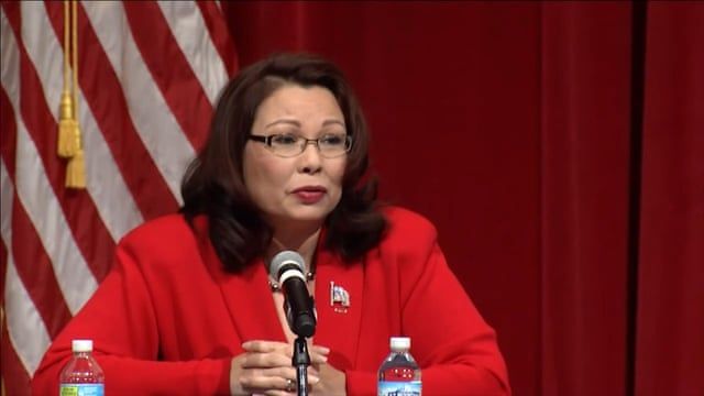 Republican Mike Kirk singles out Asian heritage of Iraq veteran rival Tammy Duckworth