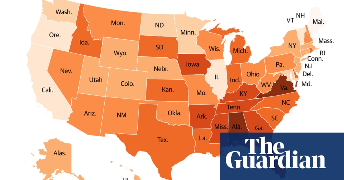 Which Us States Make It Hardest To Vote Us News The Guardian