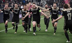 Ajax have been the surprise package of this year's Champions League, having beaten both Real Madrid and Juventus in the knockout stage.