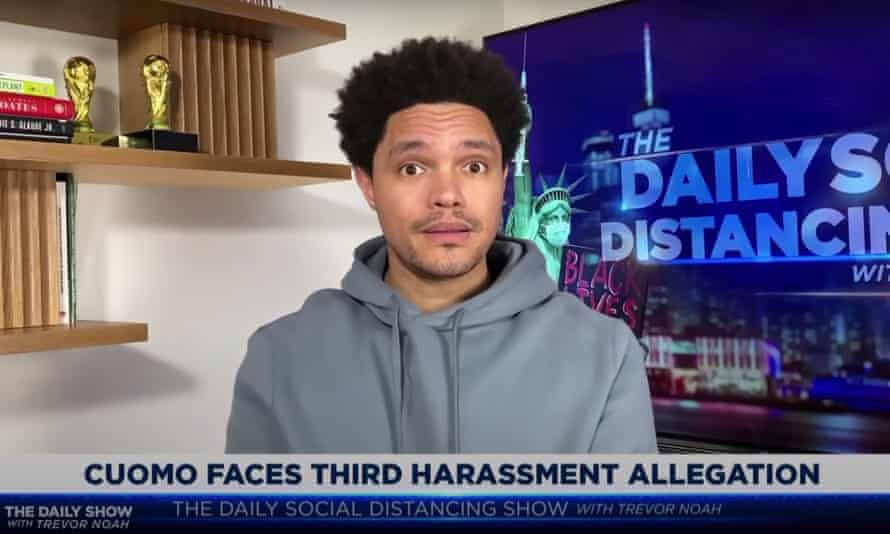 Trevor Noah: 'If you're doing something to someone that turns them into the [grimace] emoji, you have done something wrong.'