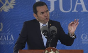 President Jimmy Morales declared Iván Velásquez persona non grata last year and has announced he will not renew Cicig's mandate.