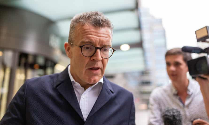 Deputy leader of the Labour party, Tom Watson, leaves Labour HQ after the NEC meeting about anti-semitism on 9 July.