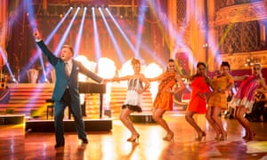 Ed Balls on Strictly Come Dancing.
