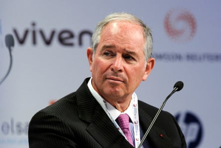 Stephen Schwarzman, CEO and co-founder of Blackstone, was sent a letter accusing the company of helping fuel a global housing crisis.