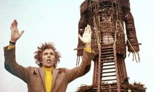 Jolly maypole nightmare … Christopher Lee in The Wicker Man (1973)
