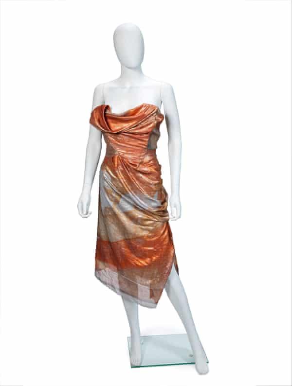 Vivienne Westwood corset gown.