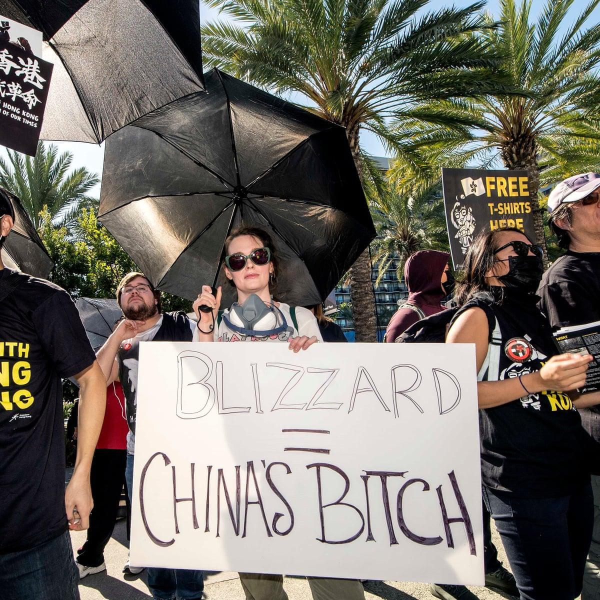 เล น Overwatch ฟร ใน Roblox Youtube I Care About Blizzard But The Hong Kong Situation Is Dire The Gaming Convention Rocked By Protest Games The Guardian