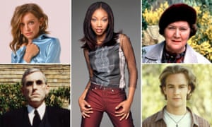 Look who (could be) back: (clockwise from left) Calista Flockhart in Ally McBeal, Brandy in Moesha, Patricia Routledge in Hetty Wainthropp Investigates, James Van Der Beek in Dawson's Creek, and Terrence Hardiman in The Demon Headmaster.