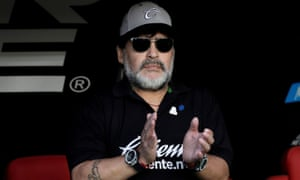 Diego Maradona is still revered by many in his homeland