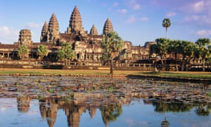 The temple of Angkor Wat, in Siem Reap, Cambodia.