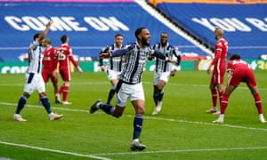 Kyle Bartley thinks he's scored...