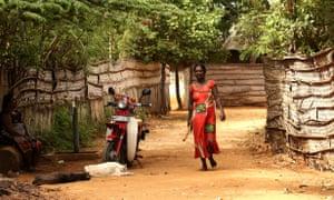 A Tamil woman