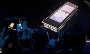 The California launch of Samsung's new Galaxy Fold, which was then delayed