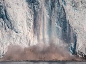Eqi Glacier, De Quervain Havn, Greenland 2016
