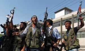 Free Syrian Army.