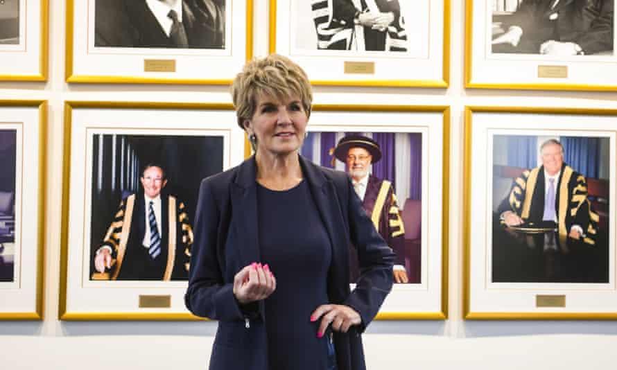 The Australian National University chancellor Julie Bishop