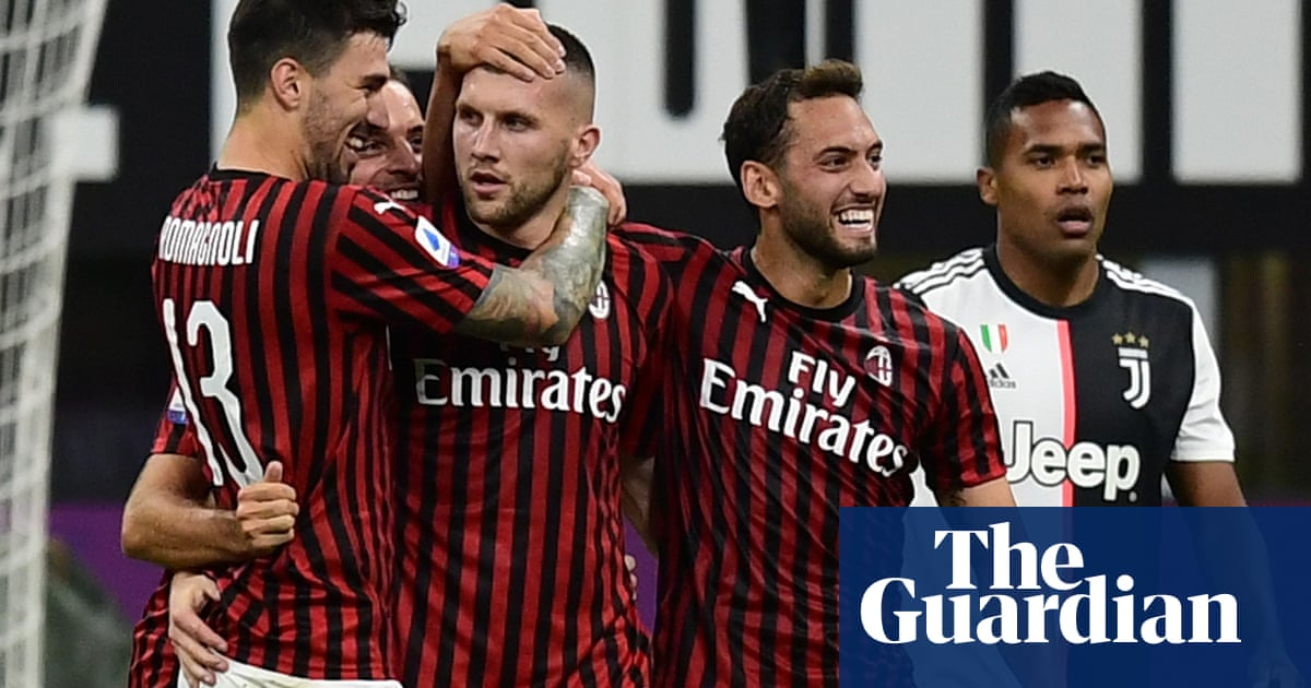 Milans six-minute salvo fires dramatic comeback to stun leaders Juventus