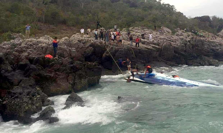 Koh Samui speedboat accident - three tourists dead, one