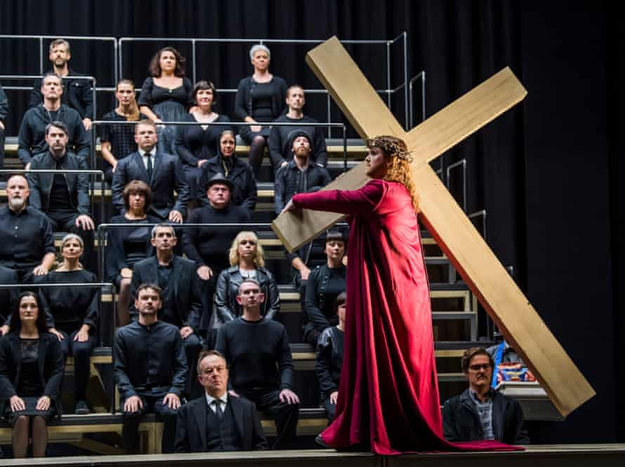 Nicky Spence (Manolios) in Opera North's The Greek Passion.