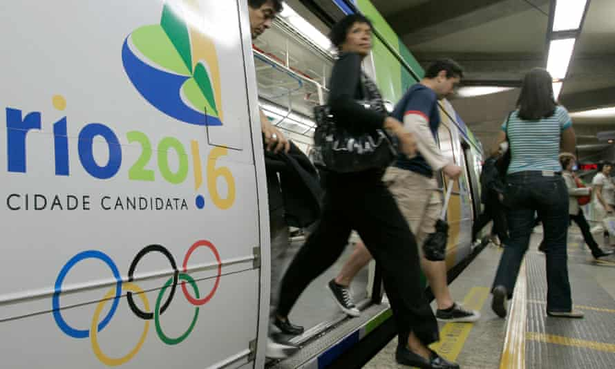 Along with the metro line, Rio is building bus express lanes and a light railway to improve transport before the Games.
