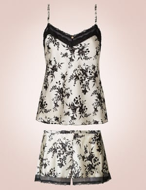 Cami set, £35 and £20, Rosie for Autograph marksandspencer.com