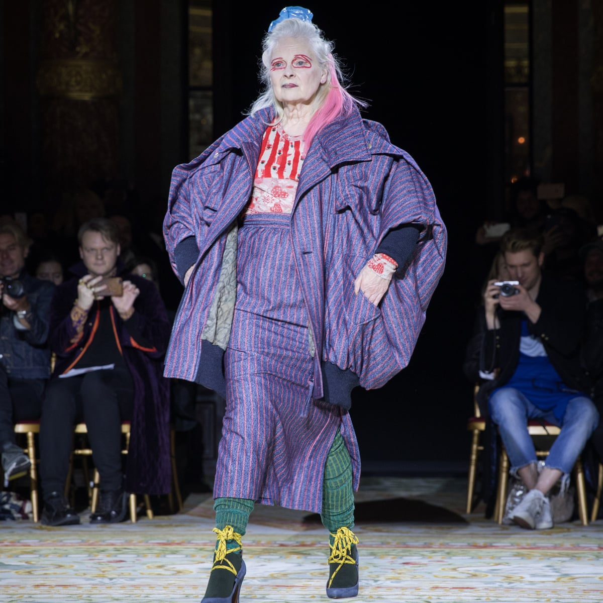 Vivienne Westwood Is The Star Of Her Own Show At Paris Fashion Week Vivienne Westwood The Guardian