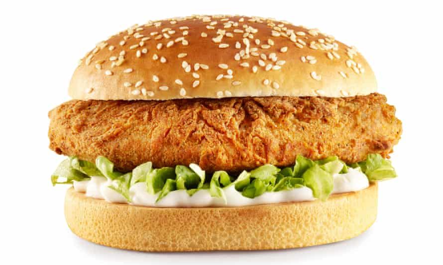 The Imposter burger from KFC.