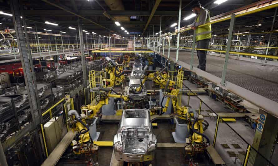the Nissan Sunderland plant
