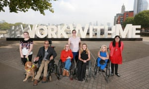 Disabled people launch the Work With Me project in 2017, which aimed to get 1m people into work by 2020