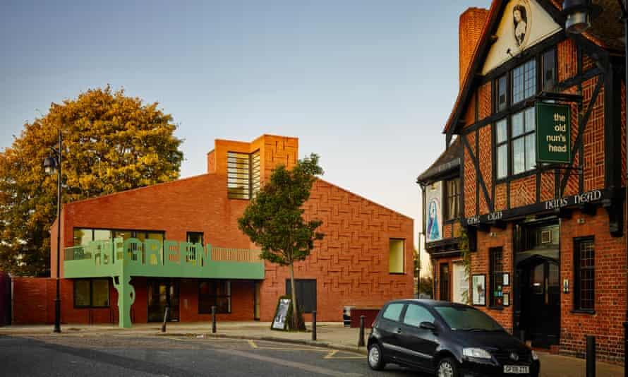 'Slightly pugnacious': the Green community centre in Nunhead, designed by AOC.