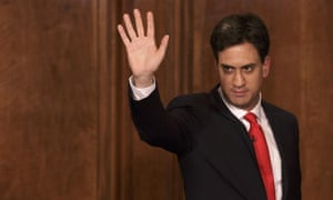 Ed Miliband waves after delivering his resignation speech last week, sparking a Labour leadership contest.