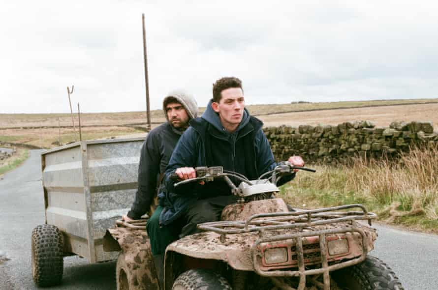 Alec Secareanu and Josh O'Connor in God's Own Country.